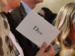 Celebrities at Dior - Paris Fashion Week