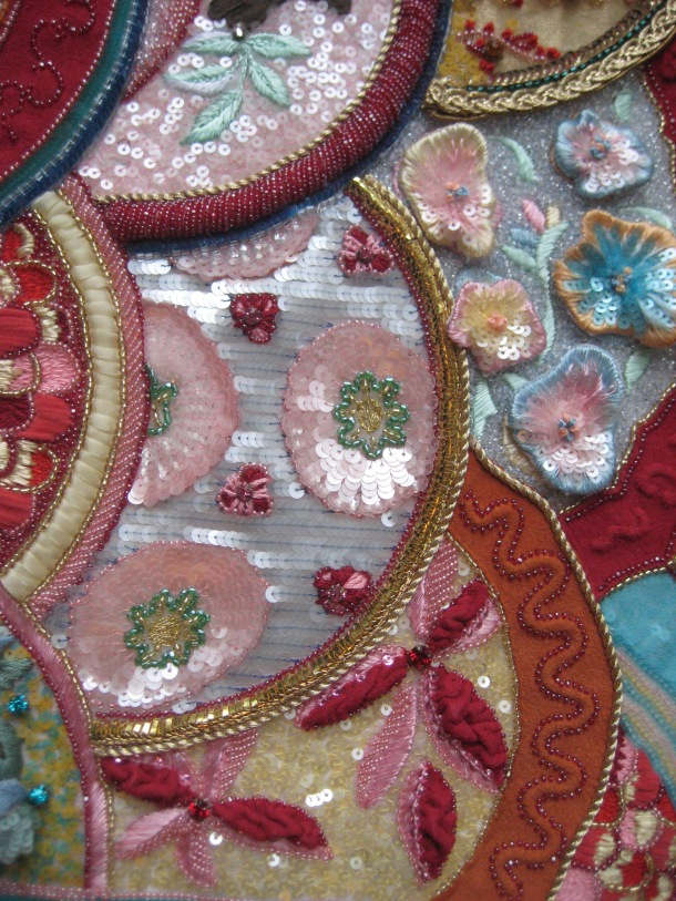 An example of Luneville Embroidery!
