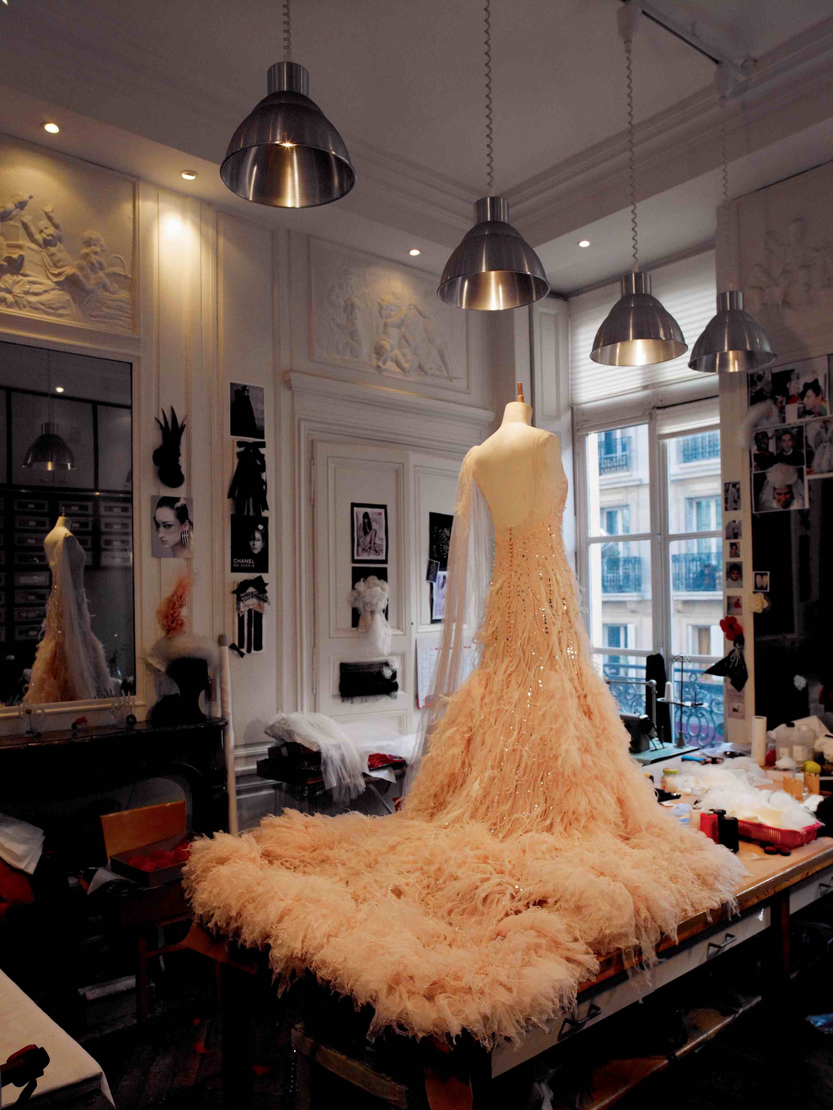 Maison lemari glimpse creations for Haute couture atelier