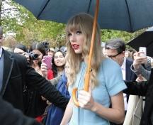Taylor Swift at Elie Saab