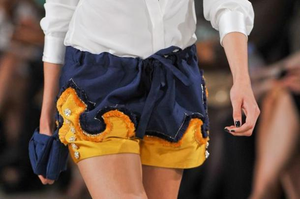 Alexis Mabille Shorts Detail