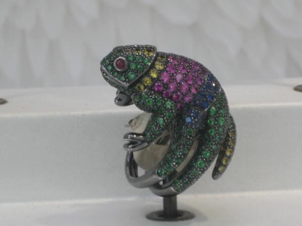 Boucheron Gemstone Ring