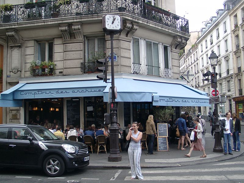 The best of paris the marais glimpse creations - Boutique comptoir des cotonniers paris ...