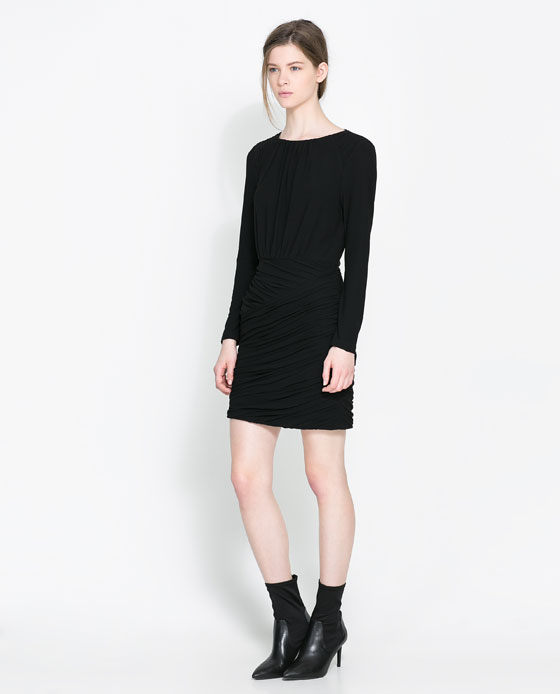 Zara Black Dress - Photo by Zara