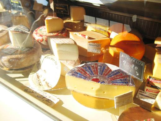 Cheese market in Rouen