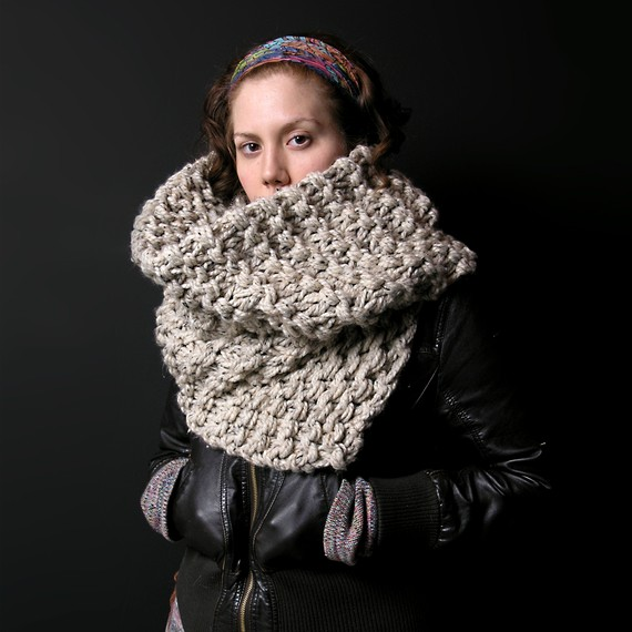 Eff Winter Scarf by Junkprints