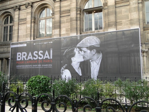 The Brassai exhibit at Hotel de Ville