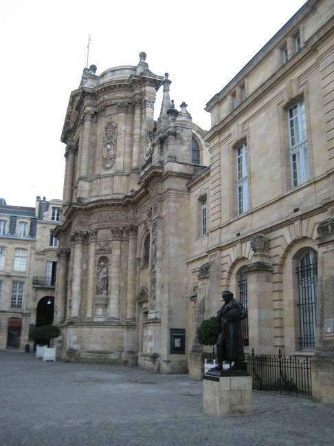 A building in Bordeaux